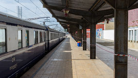 Romanian Royal Train Royalty Free Stock Images