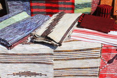 Romanian rugs Royalty Free Stock Image