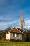Romanian rural house Stock Photo
