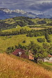Romanian rural landscape Stock Photos