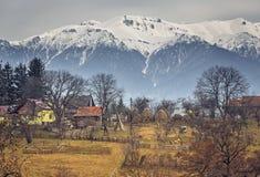 Romanian rural landscape Stock Images