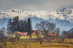 Romanian rural landscape Royalty Free Stock Photography