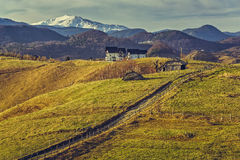 Romanian rural view Royalty Free Stock Photos