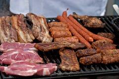 Romanian sausage Royalty Free Stock Photo