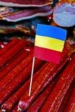 Romanian sausages Stock Photography
