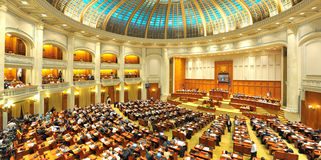 Romanian Senate Royalty Free Stock Photos