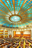 Romanian Senate interior Stock Photos