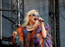 Romanian singer Loredana Groza Stock Image