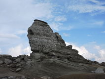 The Romanian Sphinx. Beautiful view from the Sphinx, Romania, Carpathians Royalty Free Stock Image