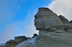 Romanian Sphinx, geological phenomenon formed through erosion Stock Photos
