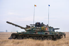 Romanian tank TR 85M 'Bizonul' Stock Images