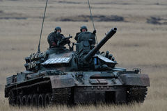Romanian tank TR-85M1 Stock Images