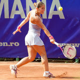 Romanian tennis player Madalina Gojnea Royalty Free Stock Photos