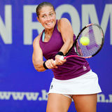 Romanian tennis player Madalina Gojnea Stock Image