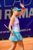 Romanian tennis player Sorana Carstea in action. During BCR Open Ladies on July 19, 2011 in Bucharest, Romania Stock Images