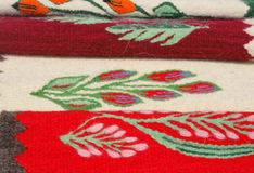 Romanian towels Royalty Free Stock Photo