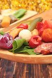 Romanian traditional appetizer Stock Photo