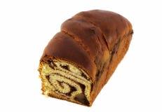 Romanian traditional cake. Isolated on white background Stock Photo