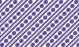 Romanian traditional carpet - cdr format Stock Photos