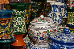 Romanian traditional ceramics 2 royalty free stock image