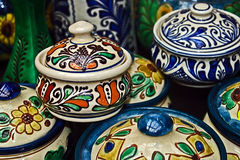 Romanian traditional ceramics 11 Royalty Free Stock Photos