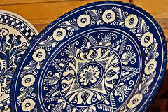 Romanian traditional ceramics 18 Stock Images