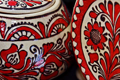 Romanian traditional ceramics 5 Stock Photos