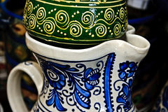 Romanian traditional ceramics 12 Stock Images