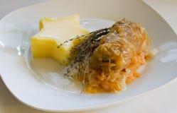 Romanian traditional cuisine-sarmale Royalty Free Stock Photos