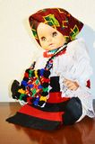 Romanian traditional doll Stock Photography