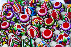 Romanian traditional easter eggs Royalty Free Stock Photo