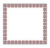 Romanian traditional frame with folk motif royalty free stock images