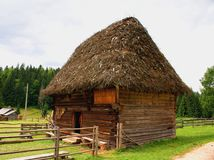 Romanian traditional house Stock Image