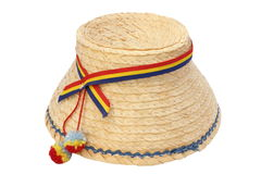 Romanian traditional isolated hat Royalty Free Stock Photos