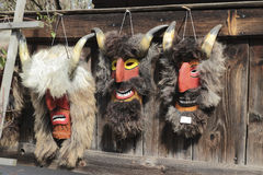 Romanian traditional masks royalty free stock image
