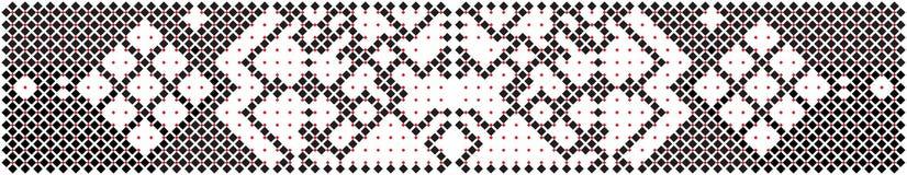 Romanian traditional motif Stock Photo