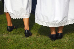 Romanian traditional outfit Royalty Free Stock Photos