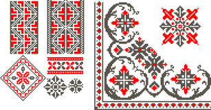 Romanian traditional patterns Royalty Free Stock Image