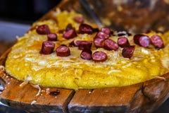 Romanian traditional polenta 1 Stock Photography