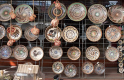Romanian traditional pottery - RAW format Stock Photography