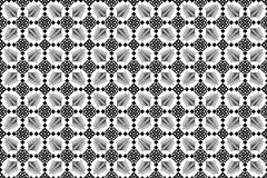 Romanian traditional seamless pattern - cdr format. Romanian traditional seamless pattern with geometrical shapes Royalty Free Stock Photography