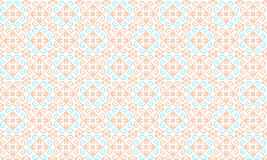 Romanian traditional seamless pattern - cdr format. Romanian traditional seamless pattern in pastel colors royalty free illustration