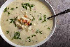 Free Romanian Traditional Soup - Ciorba De Burta Stock Image - 113042731