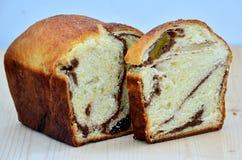 Romanian traditional sponge cake Stock Image