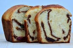 Romanian traditional sponge cake Stock Images