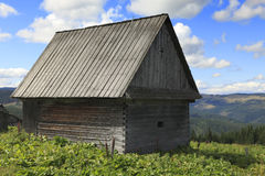 Romanian traditional wooden house Stock Photography