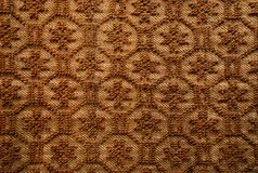 Romanian traditional woolen rug Stock Image