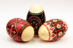romanian traditionellt för easter ägg Royaltyfri Fotografi