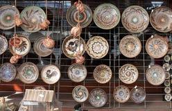 romanian traditionellt för krukmakeri Arkivbild