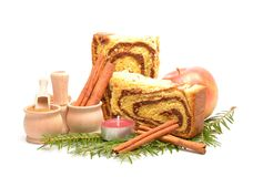 romanian tradycyjny gąbka tort Zdjęcia Stock